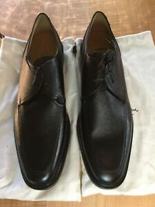 Cole Haan Collection Addler Oxford Black leather lace-up Italy 13M