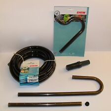 EHEIM NEW BLACK 16/22mm FITTINGS AND TUBING. Aquarium Filter Pipe