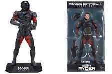 """Mass Effect Andromeda Scott Ryder 7"""" Figura de Acción Prendas para el torso de color verde Mcfarlane"""