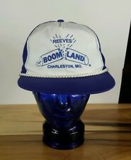 Vintage Fireworks Store Boomland 80's Trucker Snapback Hat Cap Hipster
