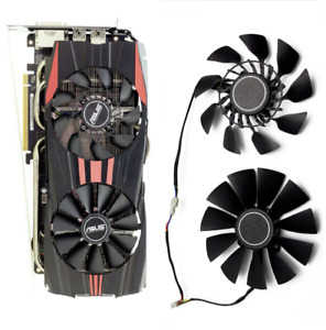 For ASUS 280X 290 290X 390 390X 780Ti 790 980 970 HQ Set Fan Cooler FD9015U12S