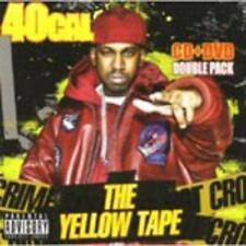 40 CAL - THE YELLOW TAPE ( CD+DVD) NEW SEALED Rap Hip Hop Gangsta