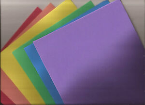 EVA craft sheets - 19.5cm x 39cm - foam craft - 5 colours to choose from