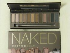 Urban Decay 'Naked' Eye Shadow Palette NIB 12 Shades & Brush 100% Authentic