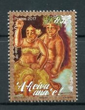 Polinesia Francesa 2017 estampillada sin montar o nunca montada Heiva I Tahiti 1 V Set danza culturas tradiciones sellos