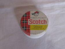 Boite en métal ruban adhésif Scotch  5,5 cm de diamètre