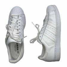Adidas Superstar Foundation All White Leather Shoes Sneakers #B27136 Men's 12