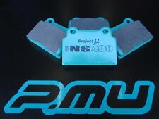 PROJECT MU NS400 REAR BRAKE PADS TO SUIT MITSUBISHI LANCER EVO X CZ4A BREMBO