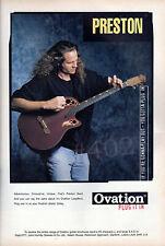 More details for ovation longneck guitar advert - 1997 ovation advertisement - preston reed