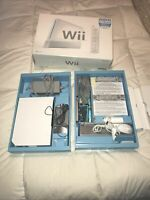 Nintendo Wii Complete In Box - Console Tested (working) Includes All Pictured