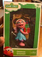Sesame Street Zoe Christmas Ornament Holding Presents Kurt S. Adler Ships N 24h