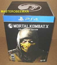 PS4 Mortal Kombat X Kollectors Edition New Sealed Exclusive Original Region Free