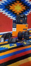 Sony Alpha SLT-A77 24.3MP Digital SLR Camera - Kit includes 2 lenses and Flash