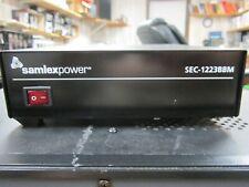 Samlex SEC-1223 BBM Power Supply 12 Volt UPS / Charger