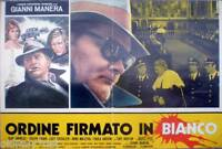 fotobusta 1974 ORDINE FIRMATO IN BIANCO-Gianni Manera-Herb Andress-J.Logan- 5