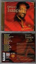"GREGORY ISAACS ""Here By Appointment"" (CD) 2003 NEUF"