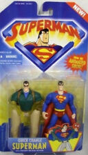 Superman Animated Series Quick Change From Superman To Clark Kent By Kenner MOC