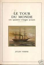 Livre le tour du monde Jules Verne book
