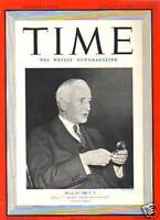 1940 Time January 8-Turkey earthquake; Grant Wood; Hull