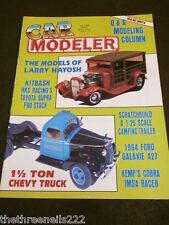 CAR MODELER - 1.5 TONNE CHEVY TRUCK - JULY 1992