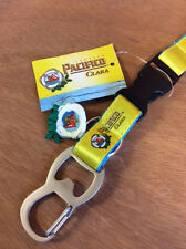 Pacifico Clara Cerveza Beer Lanyard Bottle Opener Key Chain ~ NEW & Free Shipn.