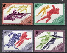 Russia 1984 Winter Olympics Complete Set MNH (SC# 5222-5225)