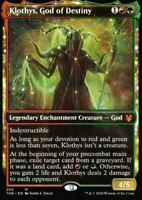 Showcase: Klothys, God of Destiny God Mytic MTG Magic Karte Theros Beyond Death