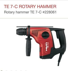 HILTI TE 7-C ROTARY HAMMER NEW IN BOX !!!!!!!!!!!!!