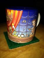 Disney Store Beauty and the Beast Coffee Mug Cup Vintage Rare Belle Potts