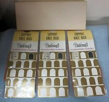 National'S Support Knee Highs Style 82 Large Neutral Beige New In Box