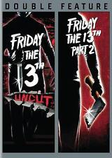 FRIDAY 13TH THE UNCUT - FRIDAY THE 13TH PART 2/NEW DVD/BUY ANY 4 ITEMS SHIP FREE