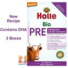 Holle Stage Pre Organic Infant Formula with DHA 3 Boxes 400g Free Shipping