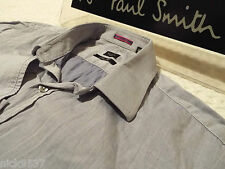 "PAUL SMITH Mens Shirt 🌍 Size 15"" (CHEST 40"") 🌎 RRP £95+ 🌏 CLASSICALLY PLAIN"