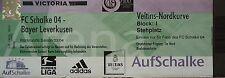 TICKET 2003/04 FC Schalke 04 - Bayer Leverkusen