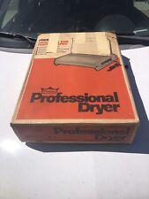 Premier Professional Photo Print Dryer Model Tc-110 Vintage In Box Works