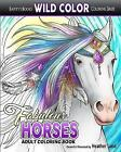 Fabulous Horses: Adult Coloring Book by Land, Heather -Paperback