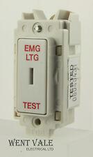 Newlec NL8820/2SP ELT - 20 A Double Pôle Clé Grille Module Commutateur EMG LTG Test NEUF