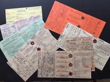 20 vintage Minnesota Hunting Licenses 1947-95; mixed lot