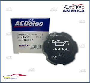 (1) NEW OEM Engine Oil Filler Cap ACDelco GM Original Equipment FC212 10108650