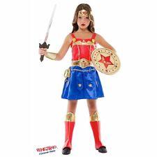 COSTUME CARNEVALE da WONDER WOMAN AVENGERS 52388 vestito per ragazza bambina 7-1