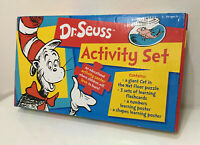 DR SEUSS Activity Set Educational Early LEARNING Home School Tools FLASHCARDS NM