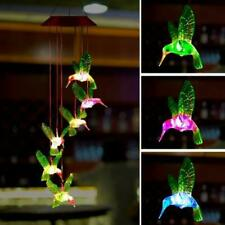 Wind Chime Outdoor Color-Changing Mobile Romantic Led Solar Powered Lights Gift