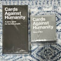 Cards Against Humanity Bundle:CAH Base Game+Absurd Expansion Box: 900 Cards*NEW*