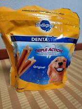 DENTASTIX Treats Dental Chews for Large Dogs 30+ lbs. Chicken Flavors 32 Treats