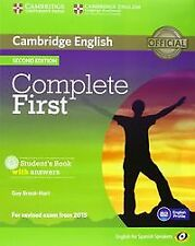 (14).(PACK).COMPLETE FIRST CERTIF.(ST+WB+KEY+CD). ENVÍO URGENTE (ESPAÑA)