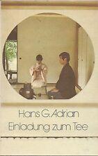 Hans G. Adrian Einladung zum TEE