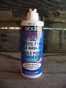 Clipper Oil - Andis (4 oz)
