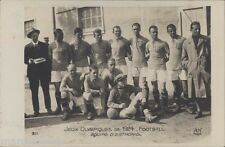FUTBOL JUEGOS OLIMPICOS 1924 EQUIPE DE ESTHONIE 311  REAL PHOTO