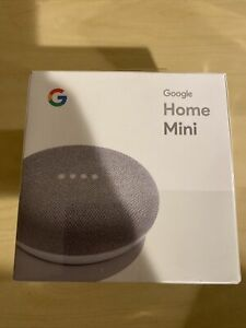Google Home Mini Chalk With Google Assistant BRAND NEW
