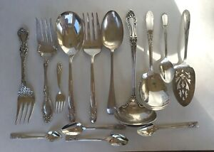 14 Beautiful Silverplate Pieces, Serving Pieces & More! Fabulous Group